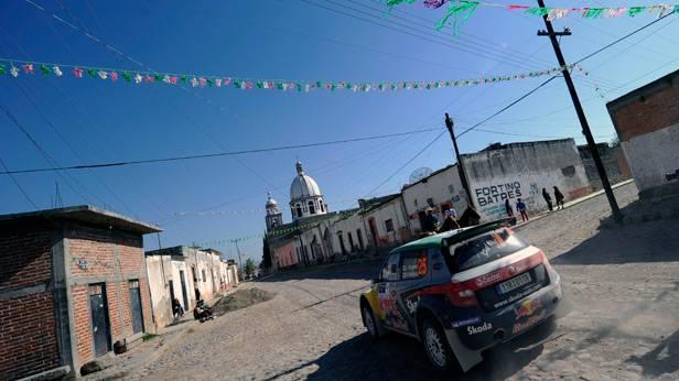 Juho Hänninen bei der Mexico-Rallye 2011