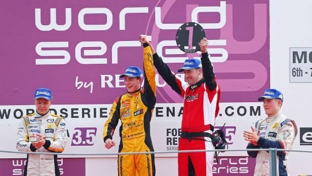Magnussen gewann heuer die Formel-Renault-3,5-Serie.