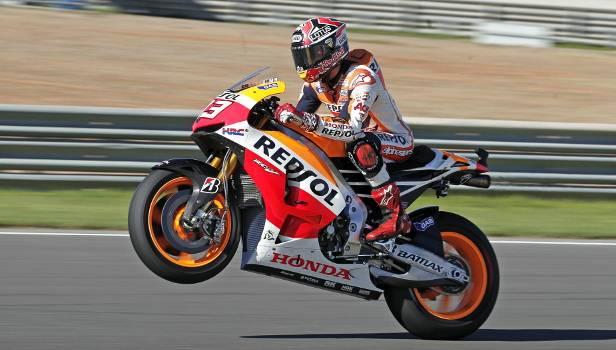 Der 20jährige Honda-Pilot Marc Marquez wurde in seiner Debüt-Saison Weltmeister.
