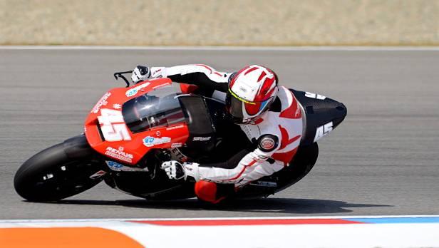 In Brno stürzte Bauer gleich zu Beginn - in Valencia will er zumindest eine gute Zeit erreichen.