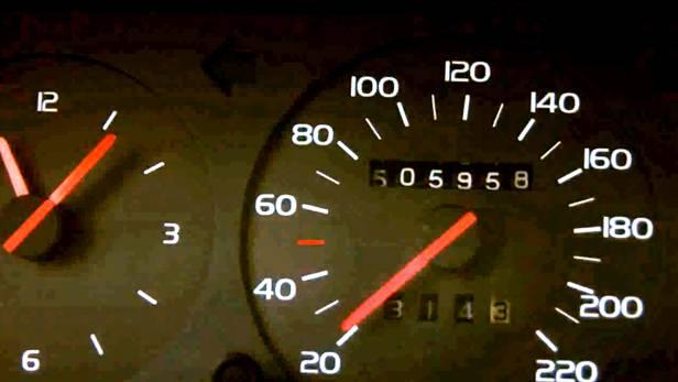 volvo 740 turbo tacho