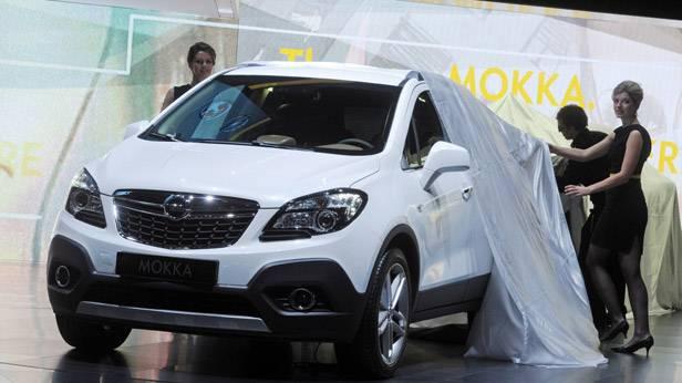 Der Opel Mokka wird in Genf 2012 präsentiert