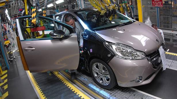 Peugeot 208 Produktion