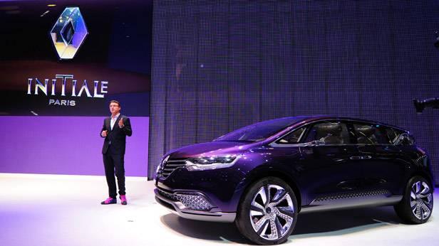 Der Renault Intitale Paris bei der IAA 2013