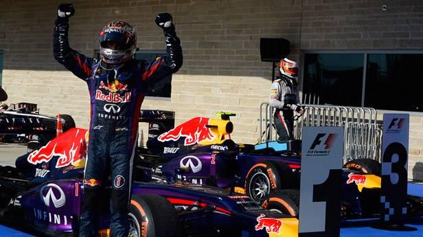 Sebastian Vettel nach dem GP der USA in Austin