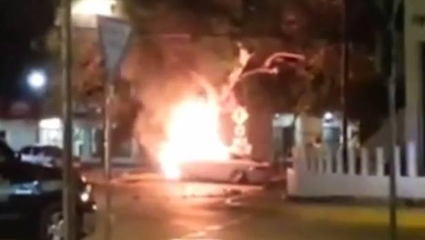 Erneut brannte ein Tesla, diesmal im mexikanischen Merida. Der Unfall-Lenker habe aber schon ein neues Model S bestellt, so Tesla.
