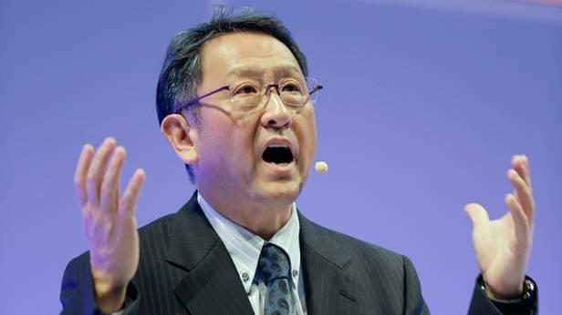 Der Toyota-Präsident Akio Toyoda
