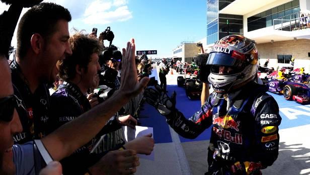 Von allen Seiten regnet es Lob für Vettel - auch in der internationalen Presse.