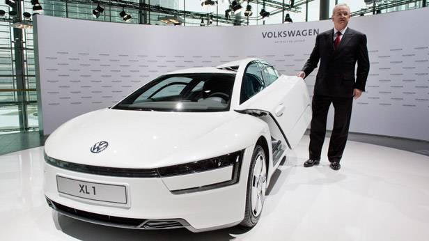 Der XL 1. Das 1 Liter-Auto von Volkswagen