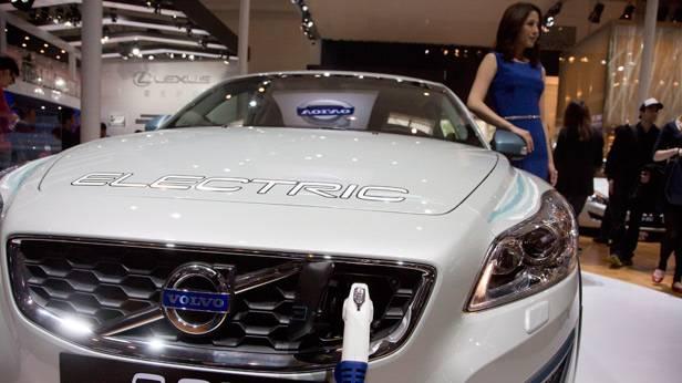 Der Volvo C30 auf der China Auto Show 2012