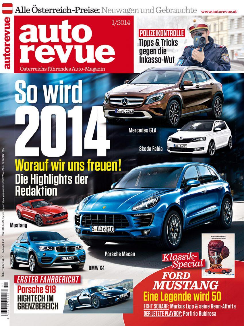 Autorevue Magazin-Archiv: Ausgabe 01/2014