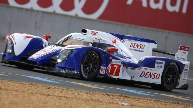 Wurz 2012 im Toyota TS030 beim 24h-Rennen in Le Mans.