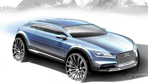 Das Audi Allroad Concept Car