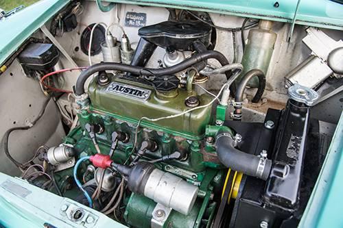 mini wildgoose motor motorraum