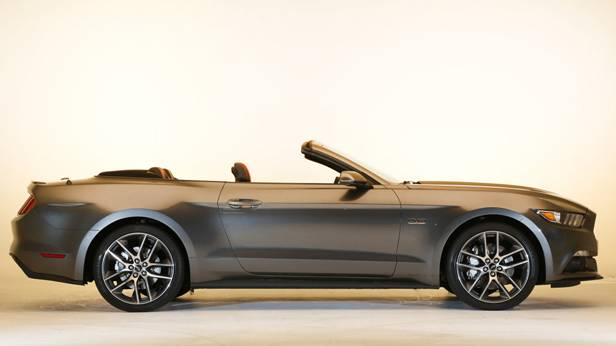 ford mustang 2015 cabrio offen seite
