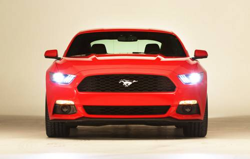 ford mustang 2015 coupe front vorne