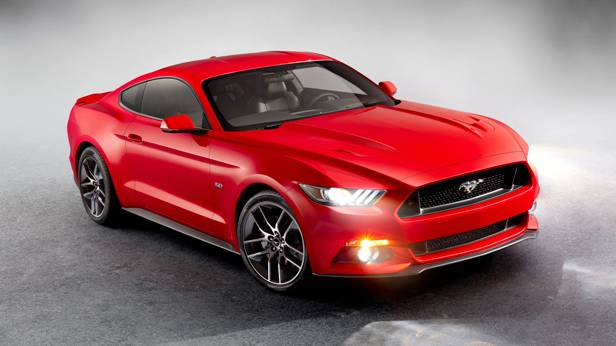 ford mustang 2015 coupe front vorne seite