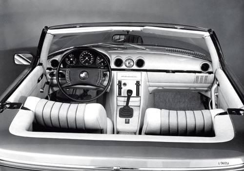 Mercedes SL SLC R107 C107 innenraum cockpit innen