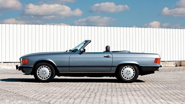 Mercedes r107 blau kaufberatung Seite