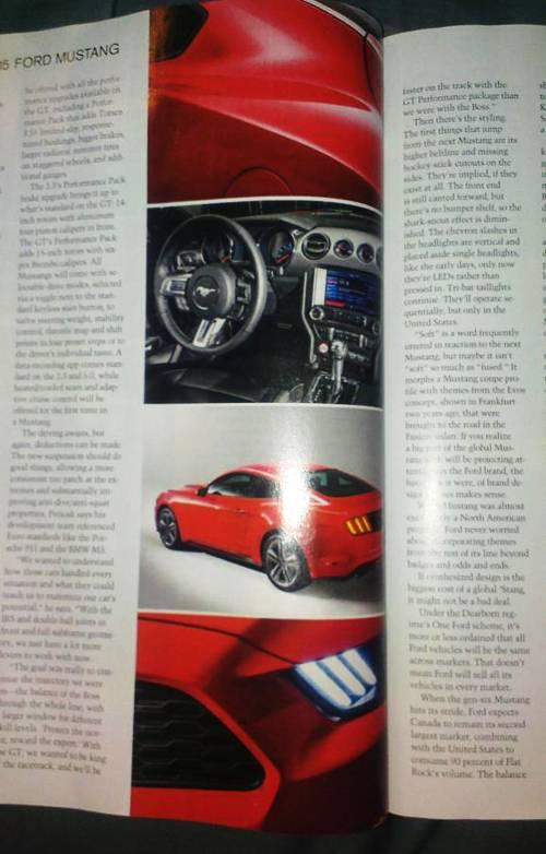 ford mustang 2015 scheinwerfer seite cockpit detail
