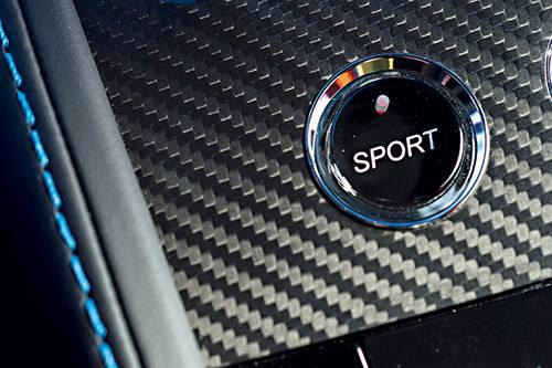 aston martin v12 vantage s schalter knopf sport