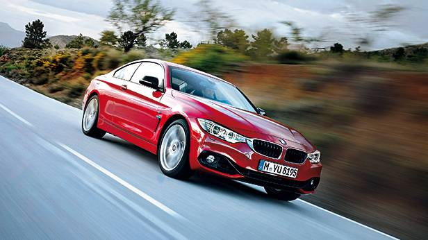 BMW 4er Coupe 2013 rot