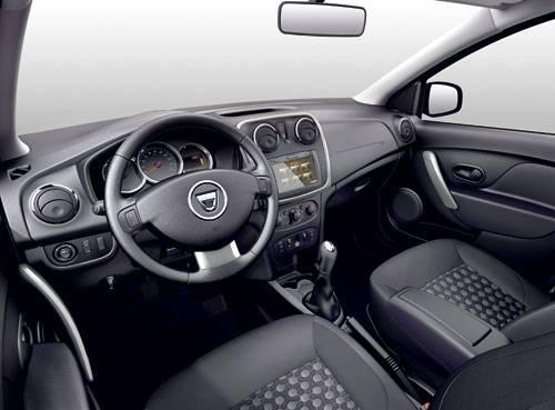 dacia logan mcv 2014 cockpit innenraum