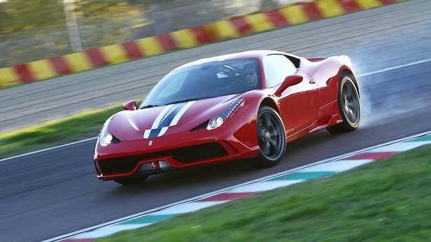 ferrari 458 speciale rot 2014 vorne front seite