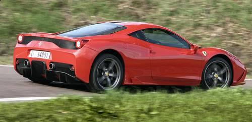 ferrari 458 speciale rot 2014 heck hinten seite