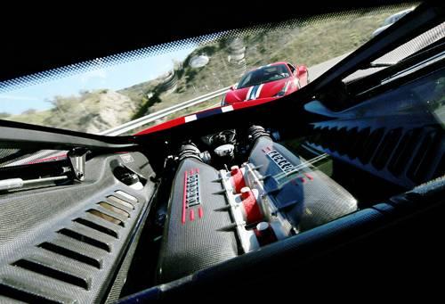 ferrari 458 speciale rot 2014 motor