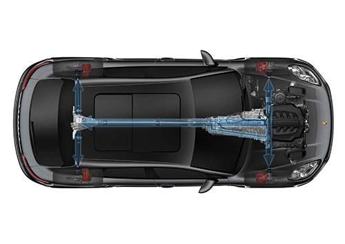 porsche macan turbo 2014 schnittbild allradantrieb