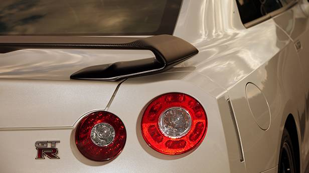 Nissan GT-R 2013 Premium Pack heckspoiler