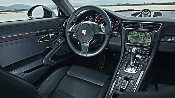 porsche 911 turbo s 991 innenraum innen cockpit