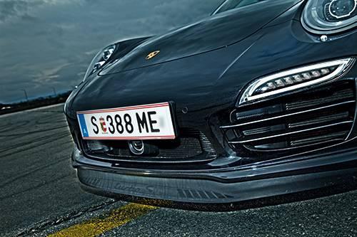 porsche 911 turbo s 991 frontschuerze lippe