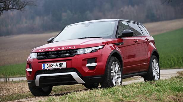 range rover evoque 2013 sd4 automatik vorne seite front