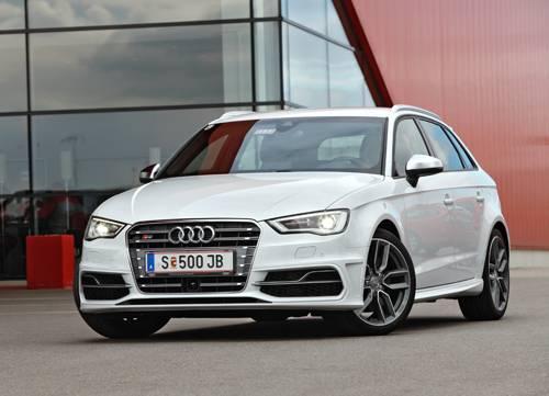 Audi S3 Sportback 2014 weiß front vorne