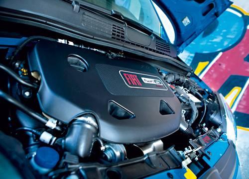 Fiat Panda Twinair blau motor motorraum