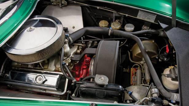 Der Bizzarrini GT Strada 5300 der Motor
