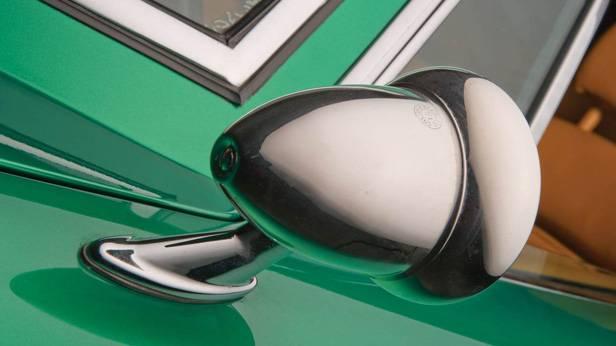 Der Bizzarrini GT Strada 5300, der Seitenspiegel