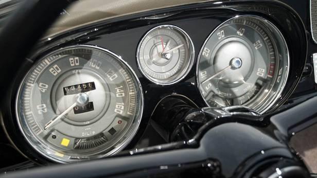 Der BMW 507, innen