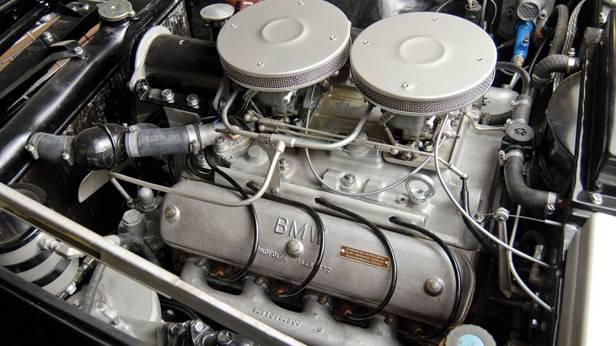 Der BMW 507, der Motor