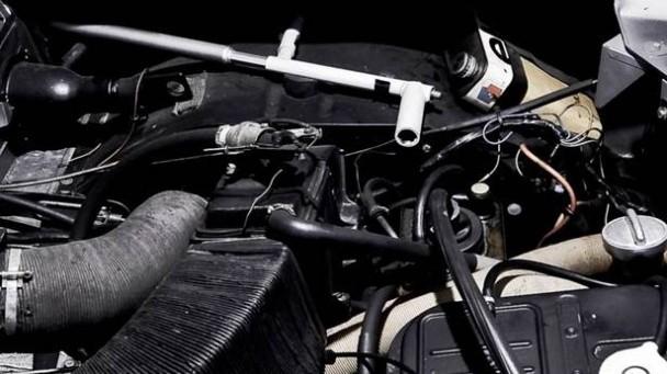 Der Motor des Citroen M35