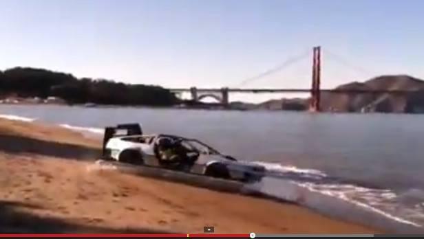 DeLorean zu Land und Wasser - gleichzeitig