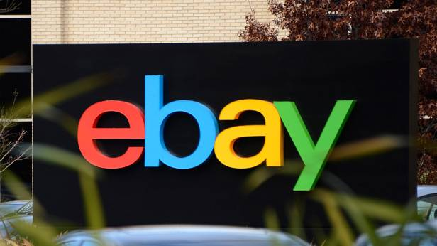 Schild von eBay