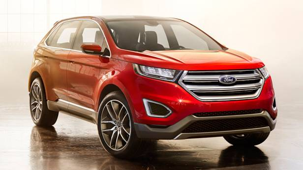 Das Ford Edge Concept