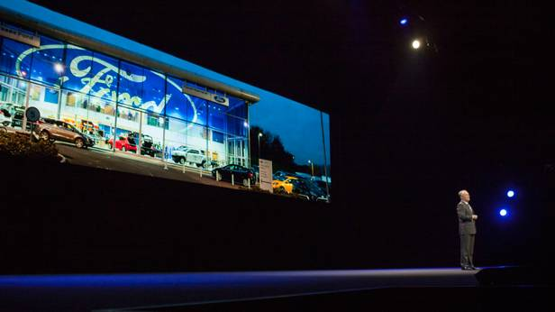 Das Ford Event auf der Go Further in Barcelona.