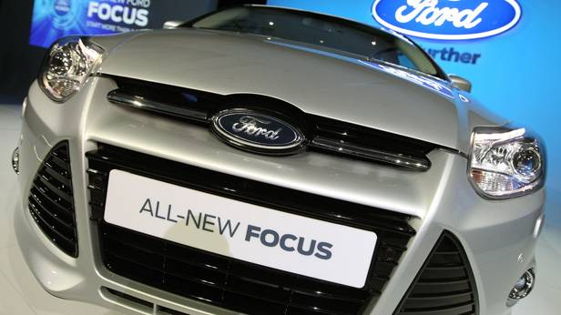 All-New Ford Focus bei der Präsentation 2012