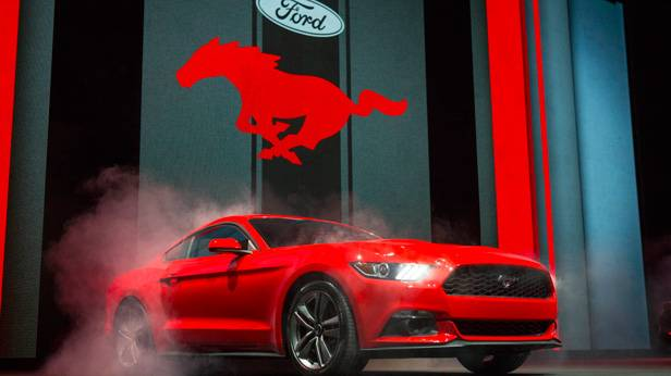 Der Ford Mustang 2014