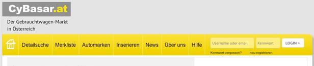 gebrauchtwagen cybasar Die 13 größten Gebrauchtwagen Marktplätze in Österreich