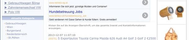 gebrauchtwagen flohmarkt Die 13 größten Gebrauchtwagen Marktplätze in Österreich